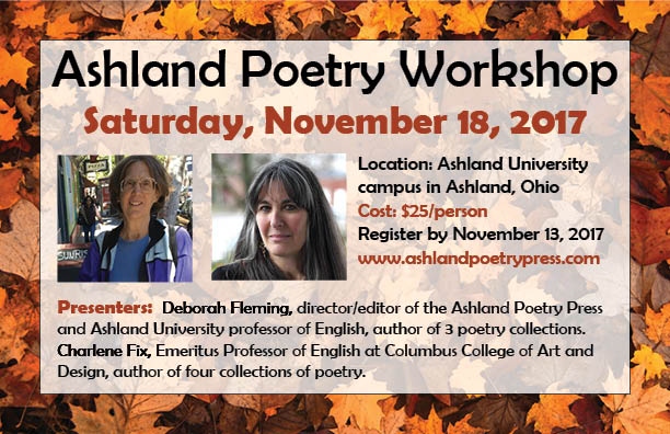Fall Poetry Workshop Set for November 18